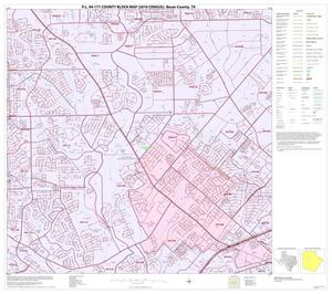 Primary view of object titled 'P.L. 94-171 County Block Map (2010 Census): Bexar County, Block 23'.