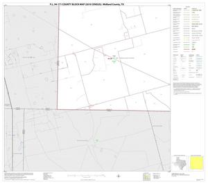 Primary view of object titled 'P.L. 94-171 County Block Map (2010 Census): Midland County, Block 13'.