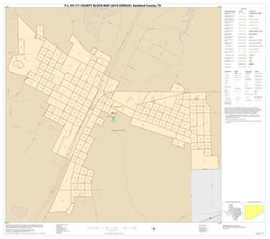 Primary view of object titled 'P.L. 94-171 County Block Map (2010 Census): Eastland County, Inset B01'.
