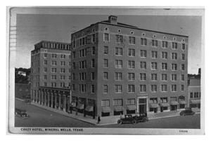 Primary view of object titled 'Crazy Hotel, Mineral Wells, Texas'.
