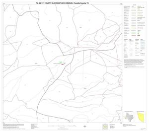 Primary view of object titled 'P.L. 94-171 County Block Map (2010 Census): Presidio County, Block 28'.