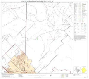 Primary view of object titled 'P.L. 94-171 County Block Map (2010 Census): Victoria County, Block 6'.