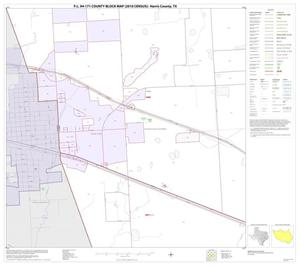 Primary view of object titled 'P.L. 94-171 County Block Map (2010 Census): Harris County, Block 41'.