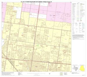Primary view of object titled 'P.L. 94-171 County Block Map (2010 Census): Hidalgo County, Block 86'.