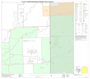 Primary view of object titled 'P.L. 94-171 County Block Map (2010 Census): Denton County, Block 40'.