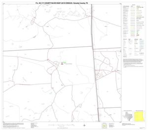 Primary view of object titled 'P.L. 94-171 County Block Map (2010 Census): Kenedy County, Block 12'.