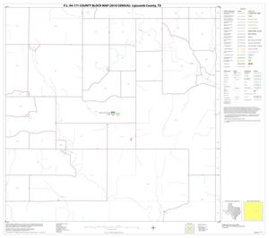 Primary view of object titled 'P.L. 94-171 County Block Map (2010 Census): Lipscomb County, Block 7'.