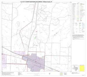 Primary view of object titled 'P.L. 94-171 County Block Map (2010 Census): Childress County, Block 8'.