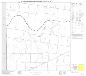 Primary view of object titled 'P.L. 94-171 County Block Map (2010 Census): Baylor County, Block 9'.