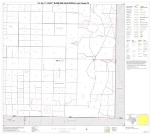 Primary view of object titled 'P.L. 94-171 County Block Map (2010 Census): Lynn County, Block 9'.