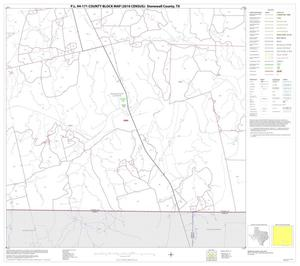 Primary view of object titled 'P.L. 94-171 County Block Map (2010 Census): Stonewall County, Block 15'.
