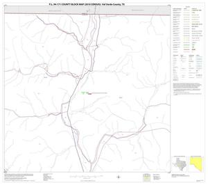Primary view of object titled 'P.L. 94-171 County Block Map (2010 Census): Val Verde County, Block 3'.
