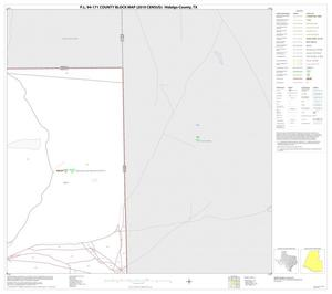Primary view of object titled 'P.L. 94-171 County Block Map (2010 Census): Hidalgo County, Block 6'.