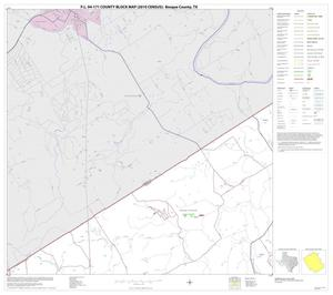 Primary view of object titled 'P.L. 94-171 County Block Map (2010 Census): Bosque County, Block 2'.