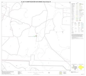 Primary view of object titled 'P.L. 94-171 County Block Map (2010 Census): Pecos County, Block 40'.