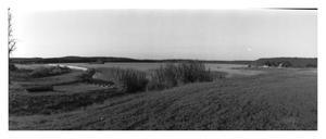 Primary view of object titled '[Panoramic Photograph of Lake Mineral Wells]'.