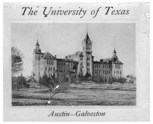 Primary view of object titled 'The University of Texas, Austin—Galveston.'.