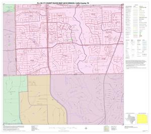 Primary view of object titled 'P.L. 94-171 County Block Map (2010 Census): Collin County, Block 93'.