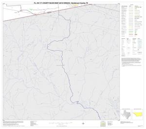 Primary view of object titled 'P.L. 94-171 County Block Map (2010 Census): Henderson County, Block 29'.