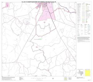 Primary view of object titled 'P.L. 94-171 County Block Map (2010 Census): McCulloch County, Block 23'.