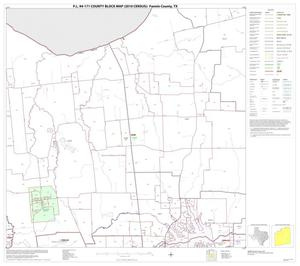 Primary view of object titled 'P.L. 94-171 County Block Map (2010 Census): Fannin County, Block 5'.