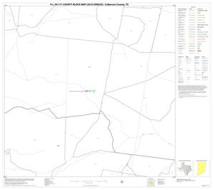 Primary view of object titled 'P.L. 94-171 County Block Map (2010 Census): Culberson County, Block 22'.