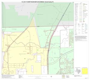 Primary view of object titled 'P.L. 94-171 County Block Map (2010 Census): Tarrant County, Block 4'.