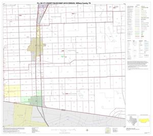 Primary view of object titled 'P.L. 94-171 County Block Map (2010 Census): Willacy County, Block 8'.
