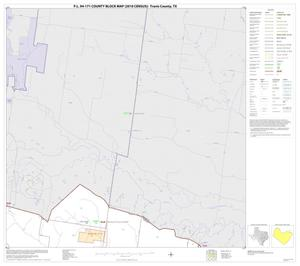 Primary view of object titled 'P.L. 94-171 County Block Map (2010 Census): Travis County, Block 11'.