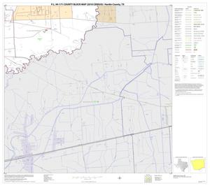 Primary view of object titled 'P.L. 94-171 County Block Map (2010 Census): Hardin County, Block 24'.
