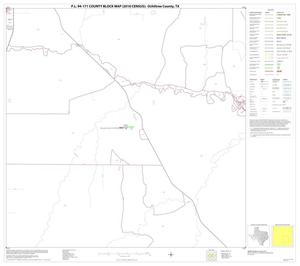 Primary view of object titled 'P.L. 94-171 County Block Map (2010 Census): Ochiltree County, Block 11'.
