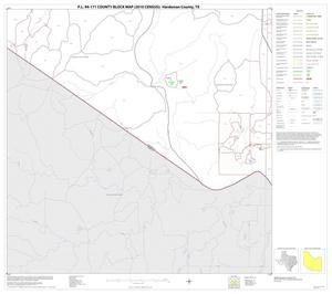 Primary view of object titled 'P.L. 94-171 County Block Map (2010 Census): Hardeman County, Block 13'.