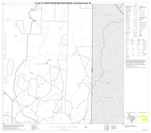 Primary view of object titled 'P.L. 94-171 County Block Map (2010 Census): Tom Green County, Block 23'.