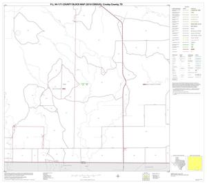 Primary view of object titled 'P.L. 94-171 County Block Map (2010 Census): Crosby County, Block 15'.