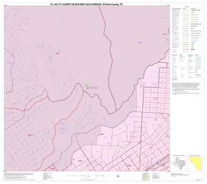 Primary view of object titled 'P.L. 94-171 County Block Map (2010 Census): El Paso County, Inset G02'.