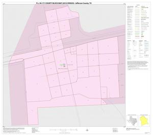 Primary view of object titled 'P.L. 94-171 County Block Map (2010 Census): Jefferson County, Inset D01'.
