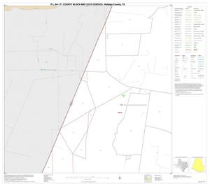 Primary view of object titled 'P.L. 94-171 County Block Map (2010 Census): Hidalgo County, Block 14'.