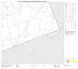 Primary view of object titled 'P.L. 94-171 County Block Map (2010 Census): Williamson County, Block 35'.