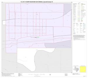 Primary view of object titled 'P.L. 94-171 County Block Map (2010 Census): Lipscomb County, Inset B01'.