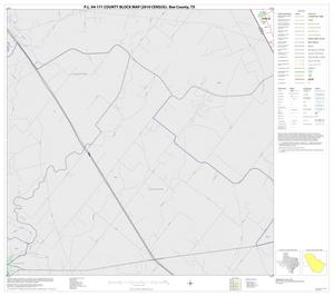 Primary view of object titled 'P.L. 94-171 County Block Map (2010 Census): Bee County, Block 8'.