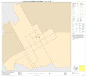 Primary view of object titled 'P.L. 94-171 County Block Map (2010 Census): Kent County, Inset A01'.