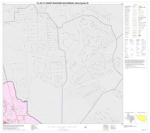 Primary view of object titled 'P.L. 94-171 County Block Map (2010 Census): Harris County, Block 16'.