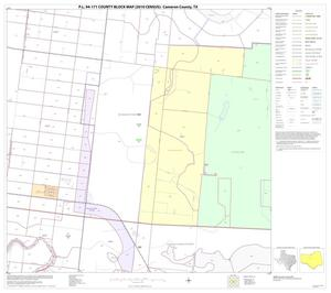 Primary view of object titled 'P.L. 94-171 County Block Map (2010 Census): Cameron County, Block 26'.