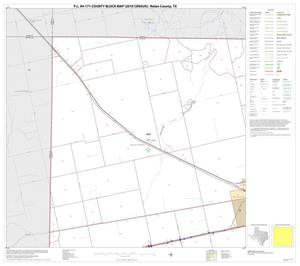 Primary view of object titled 'P.L. 94-171 County Block Map (2010 Census): Nolan County, Block 1'.