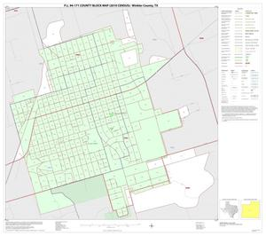Primary view of object titled 'P.L. 94-171 County Block Map (2010 Census): Winkler County, Inset A01'.