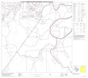 Primary view of object titled 'P.L. 94-171 County Block Map (2010 Census): Palo Pinto County, Block 11'.