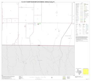 Primary view of object titled 'P.L. 94-171 County Block Map (2010 Census): Ochiltree County, Block 14'.