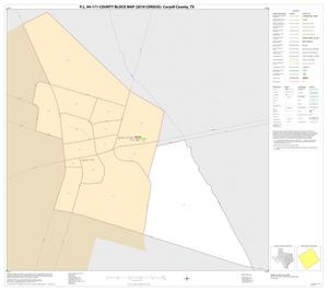 Primary view of object titled 'P.L. 94-171 County Block Map (2010 Census): Coryell County, Inset D01'.