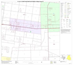 Primary view of object titled 'P.L. 94-171 County Block Map (2010 Census): Hidalgo County, Block 78'.