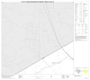 Primary view of object titled 'P.L. 94-171 County Block Map (2010 Census): Jeff Davis County, Block 8'.